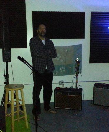 R.Ganju at the Music Garage