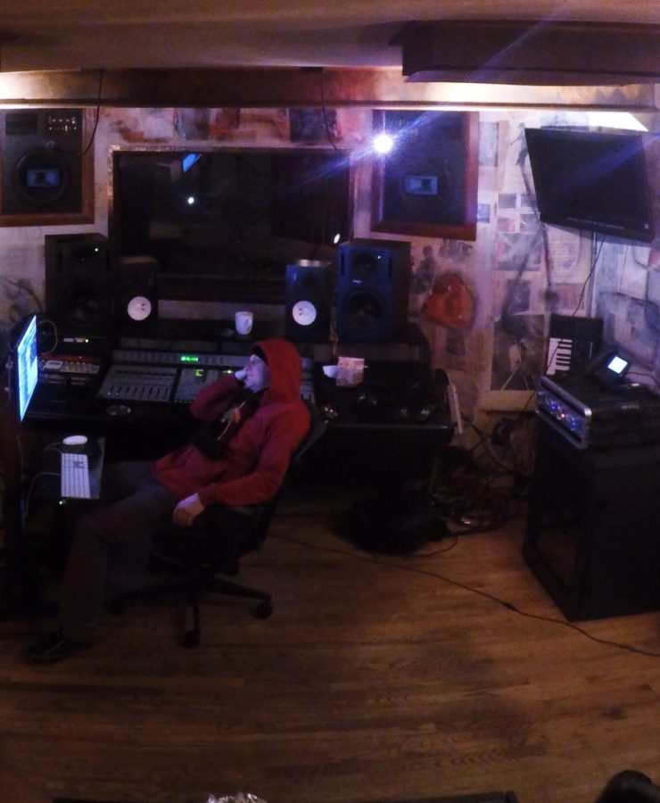 Producer Jeff Lane and Engineer Jeremy Chereskin at Chicago Recording Company (CRC)
