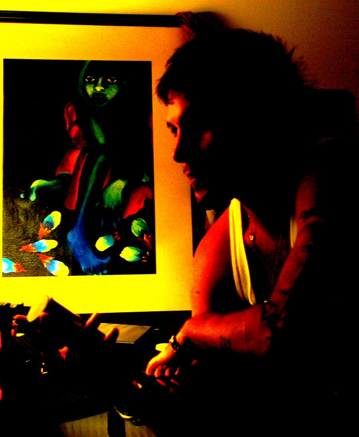 Mark J. Heidecke at the Music Zone