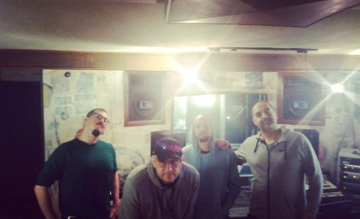 Everything Under recording at CRC (Studio 10)